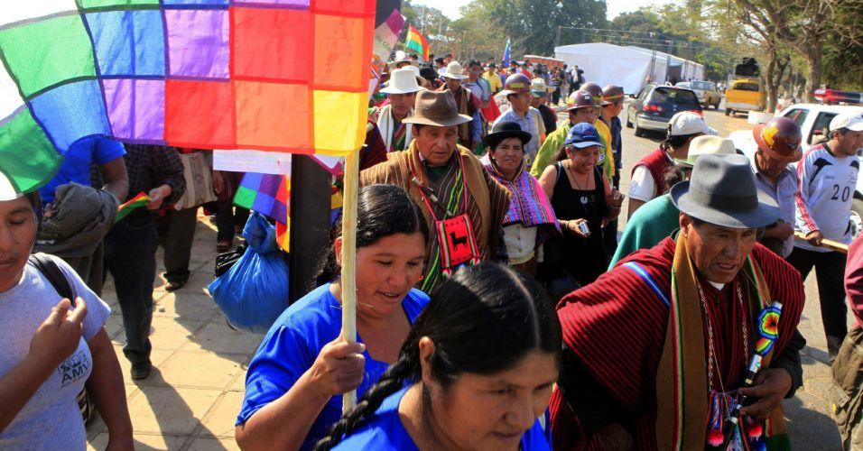 Manifestação no Paraguai