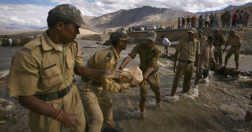 Chuvas na Índia