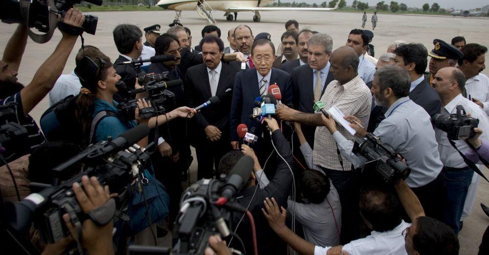 Ban Ki-moon no Paquistão
