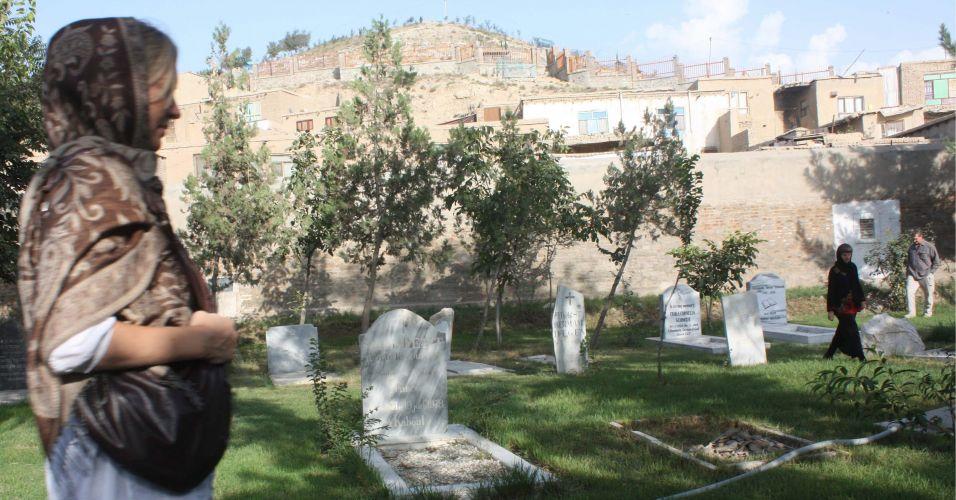 Cemitério no Afeganistão