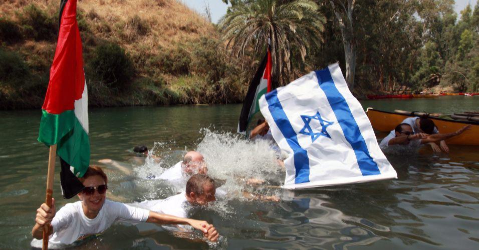Contaminação do rio Jordão