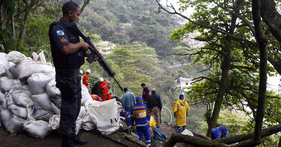 Demolição no Rio