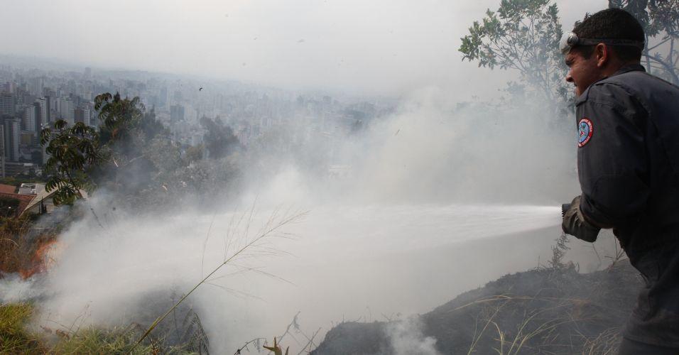 Incêndio em Minas