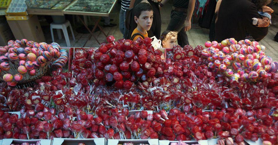Doces na Cisjordânia
