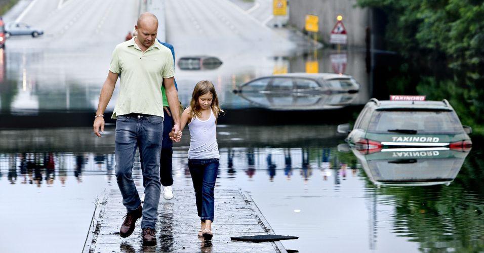 Inundações na Dinamarca
