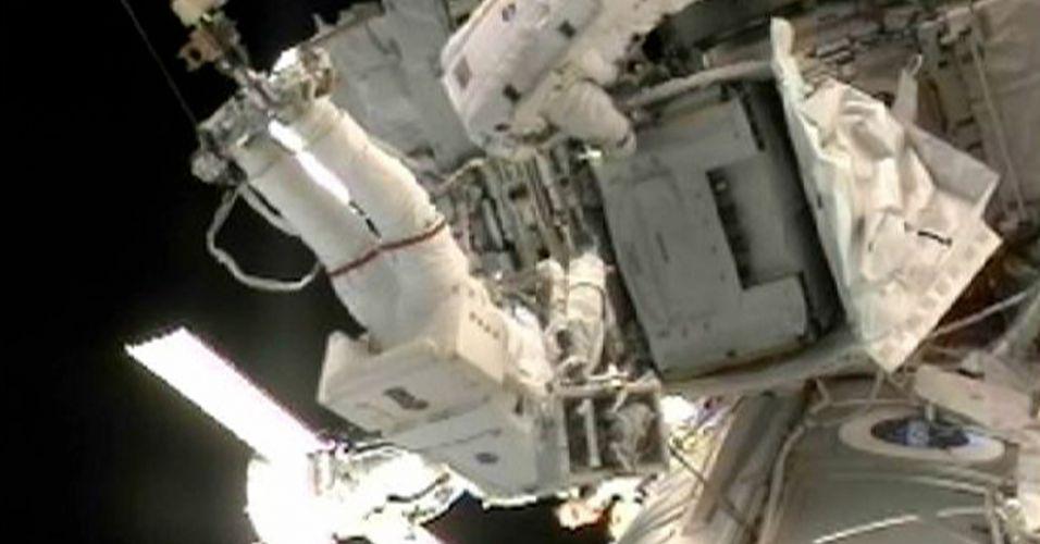 Caminhada no espaço