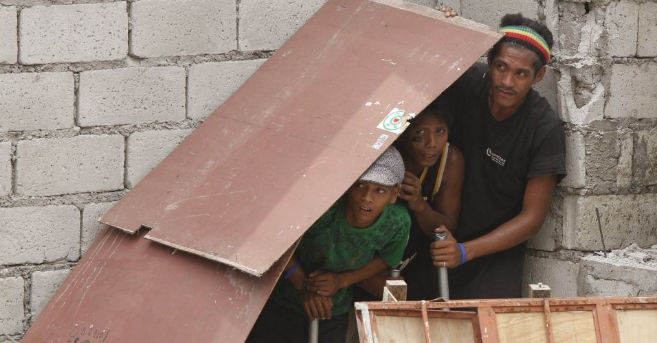 Demolição nas Filipinas