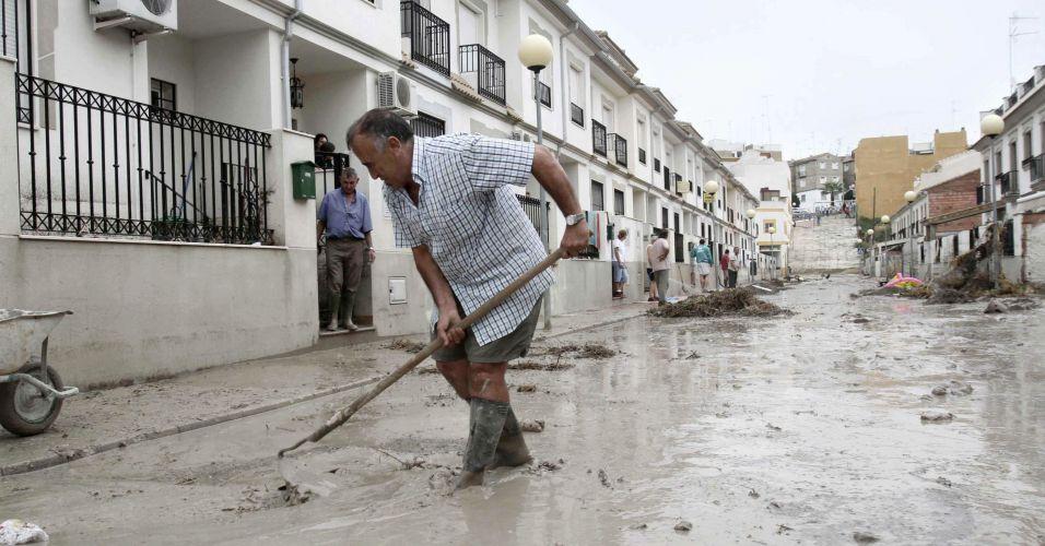 Chuvas na Espanha