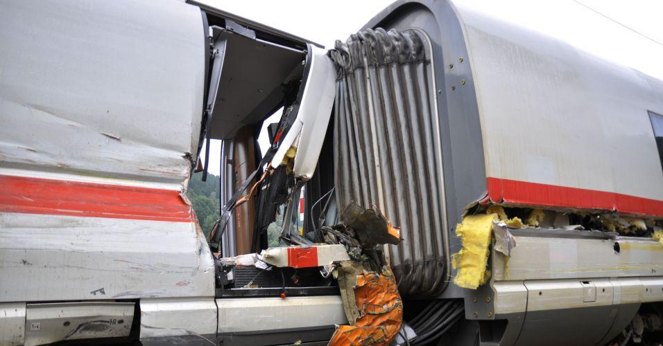 Acidente de trem na Alemanha