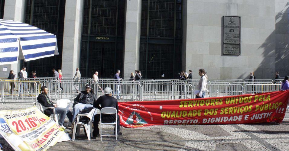 Greve no Judiciário paulista