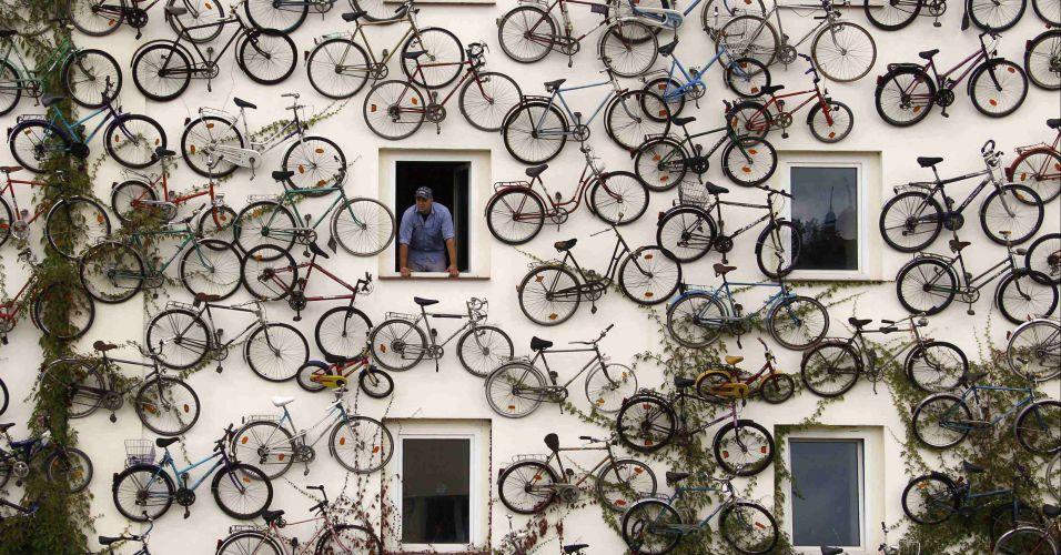 Bicicletas em loja de Berlim