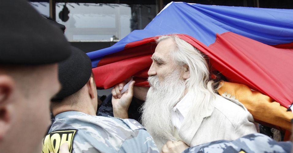 Protesto russo