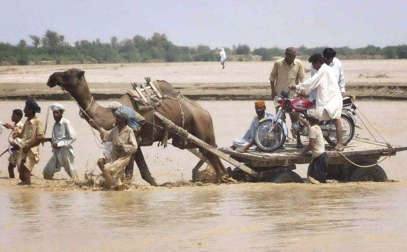 Chuvas no Paquistão