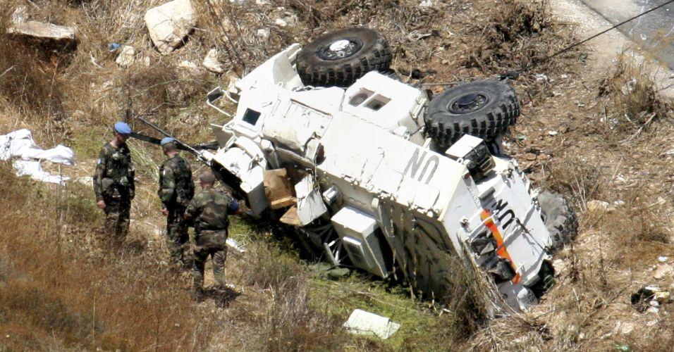 Acidente no Líbano
