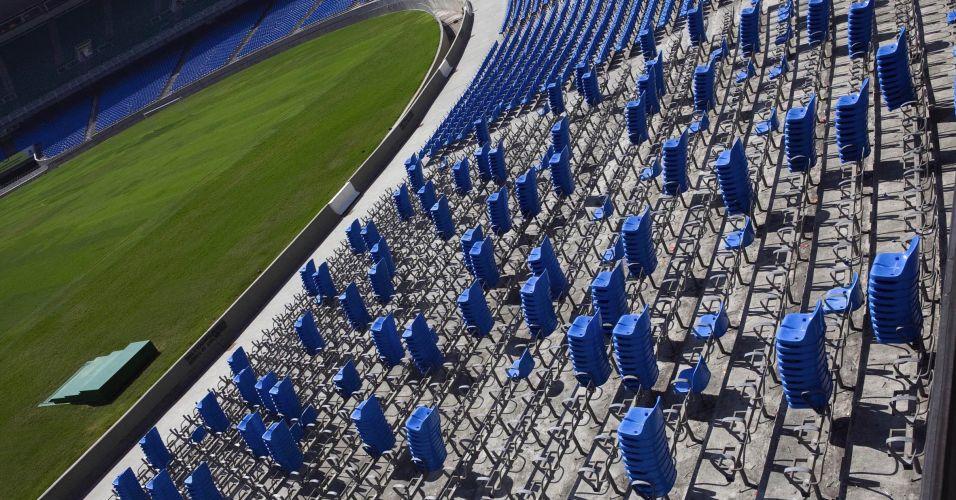 Cadeiras no Maracanã