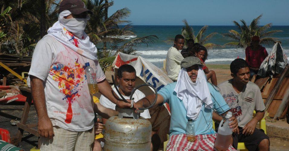 Comerciantes resistem na Bahia
