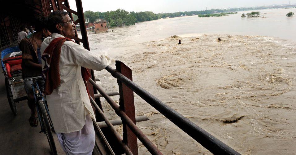 Enchentes na Índia