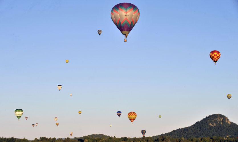 Balões na França