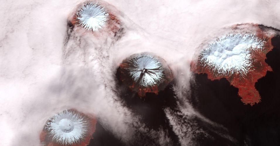 Vulcões no Alasca