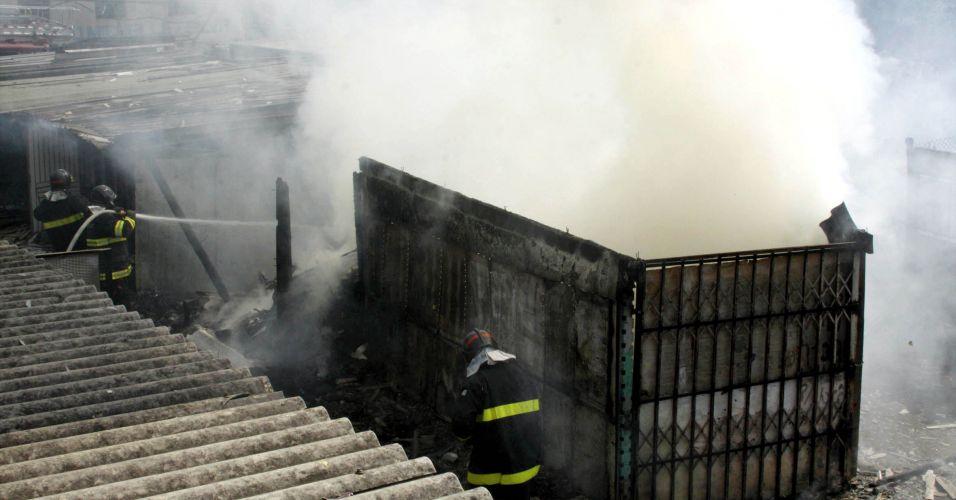Mais um incêndio em SP