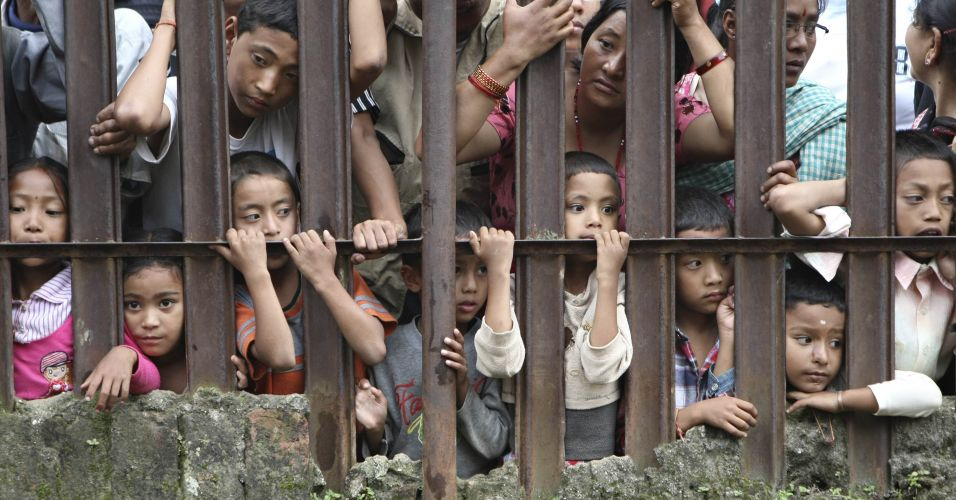 Sacrifício no Nepal