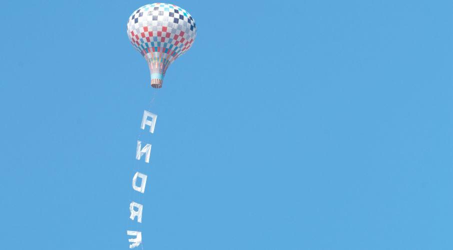 Balão no Rio
