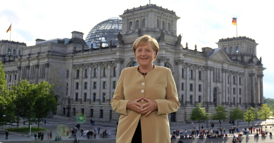 Merkel após entrevista
