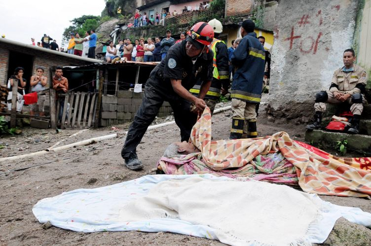 Deslizamento em Honduras