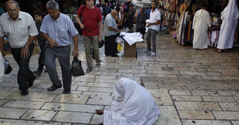 Esmola na Palestina