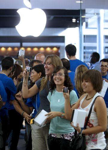 Loja Apple em Barcelona