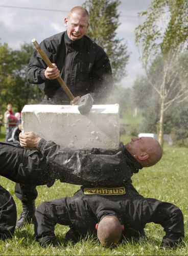 Treinamento na Bielorrússia