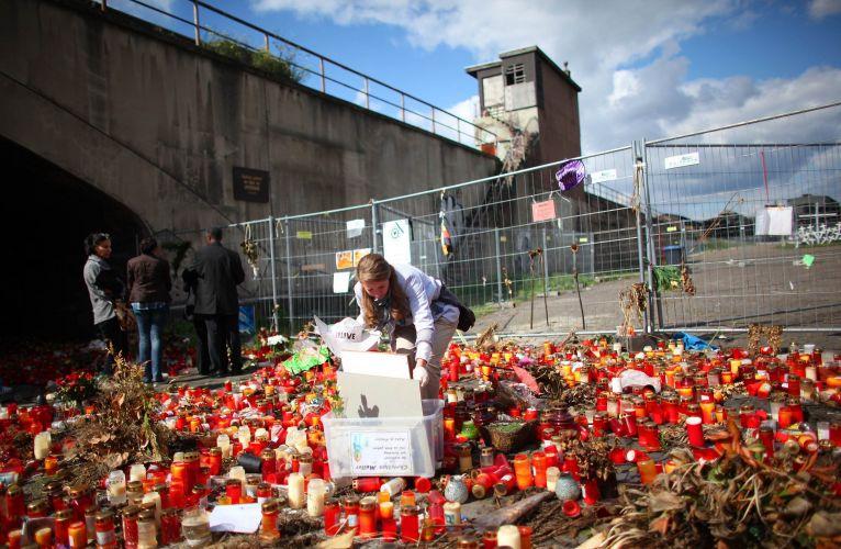 Homenagem em Duisburg