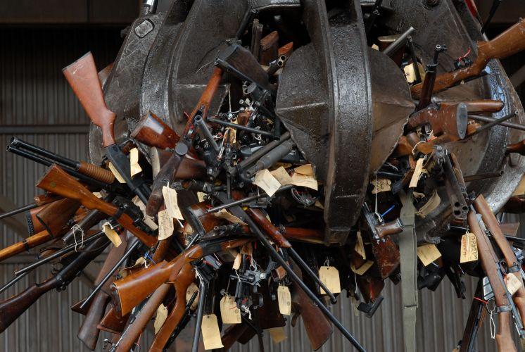 Armas na África do Sul