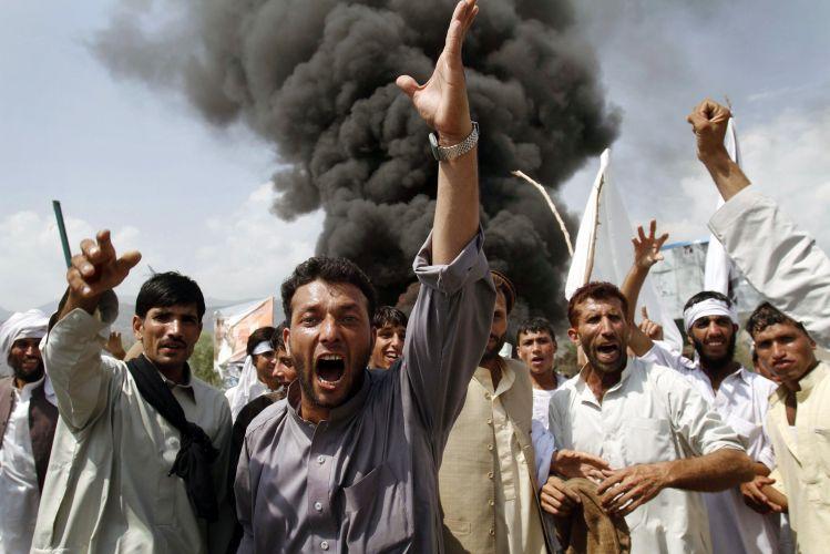 Protestos no Afeganistão