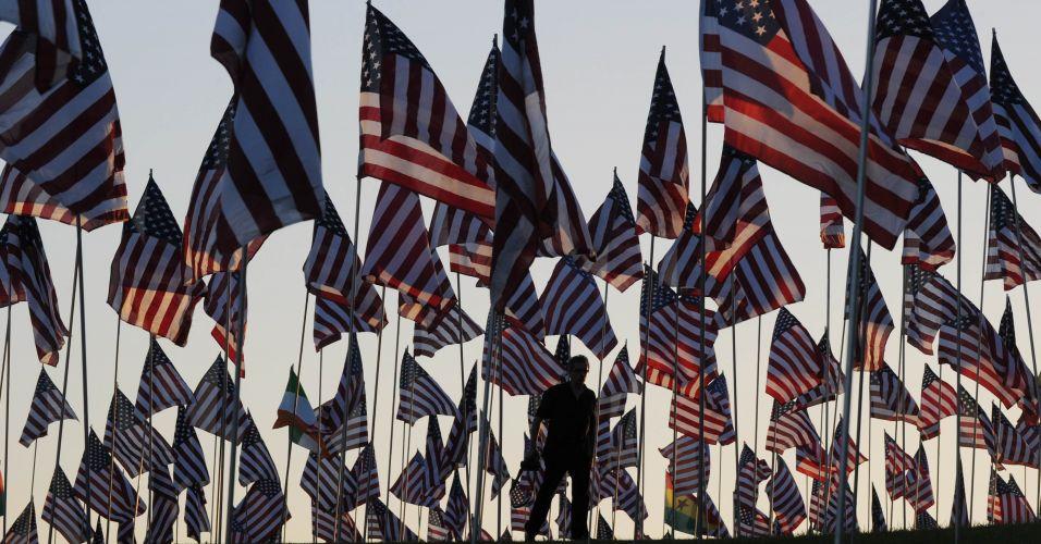 Homenagem às vítimas do 11/09