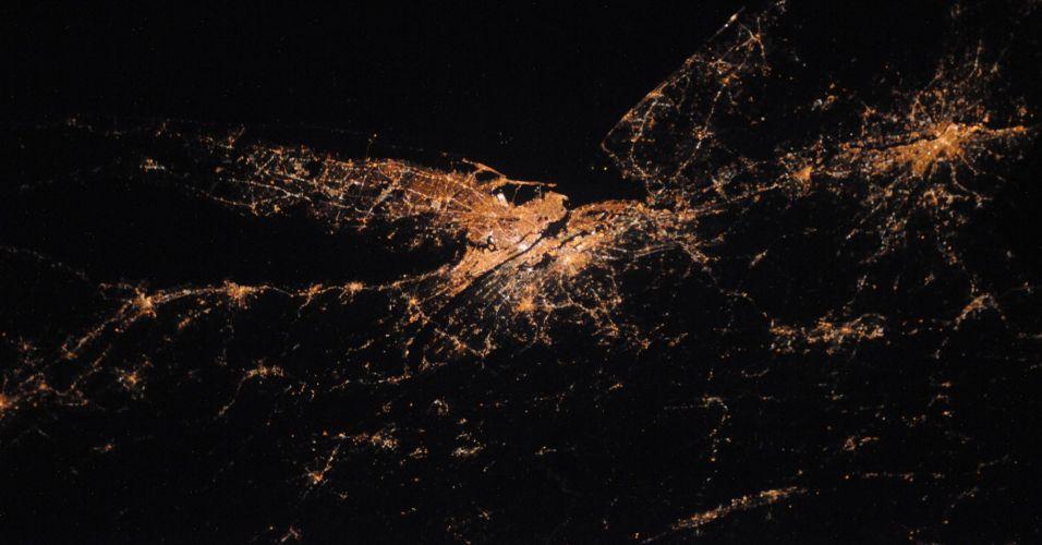 Nova York do espaço