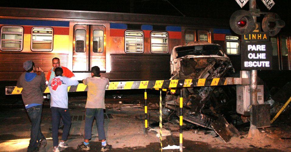 Acidente com trem em SP