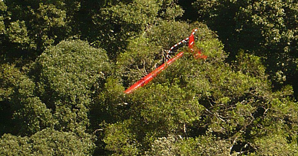 Helicóptero é encontrado