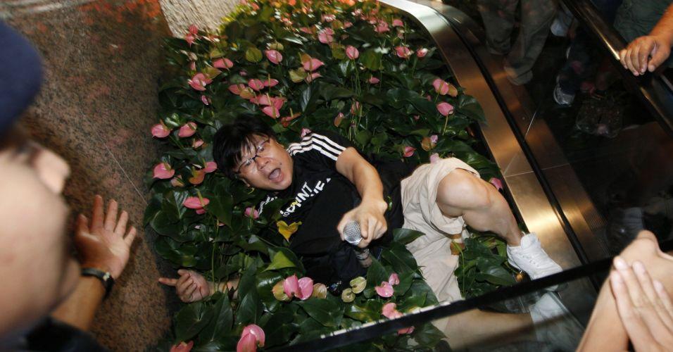 Protesto chinês contra o Japão