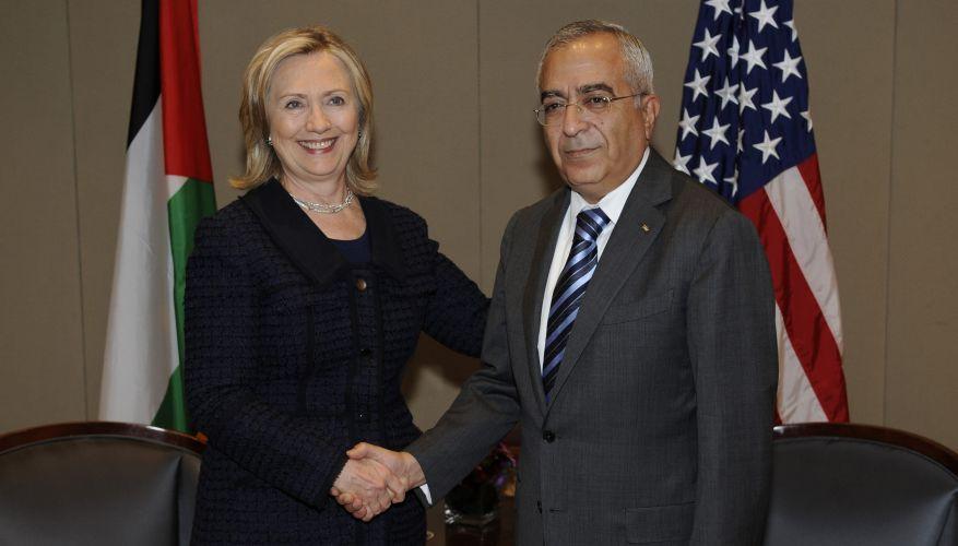 Hillary e Salam Fayyad