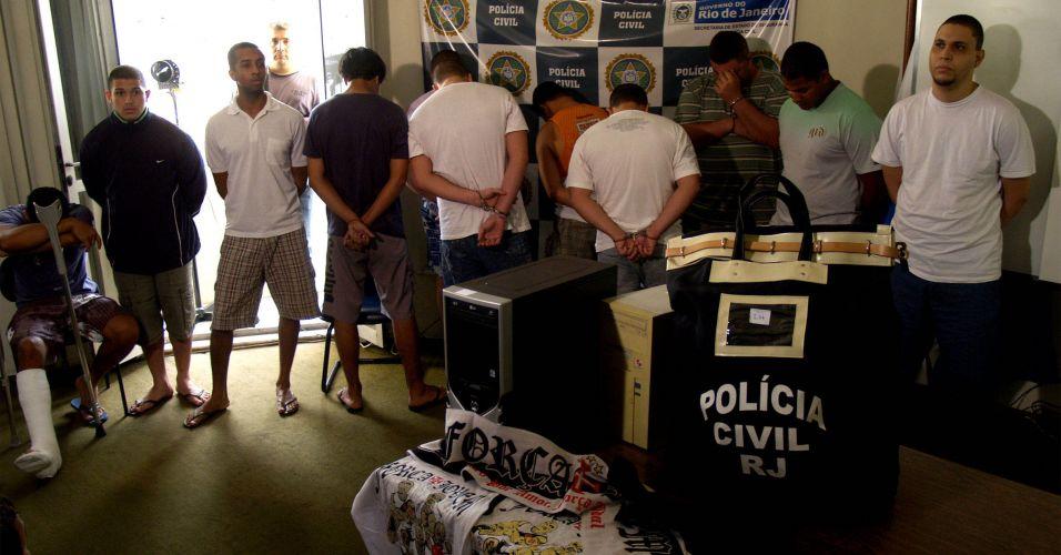 Prisões no Rio