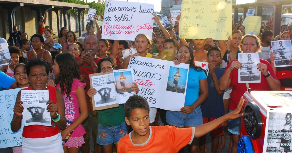 Manifestação em Pernambuco