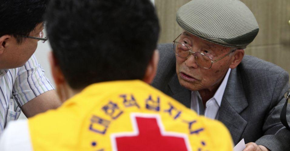 Reunião de famílias coreanas