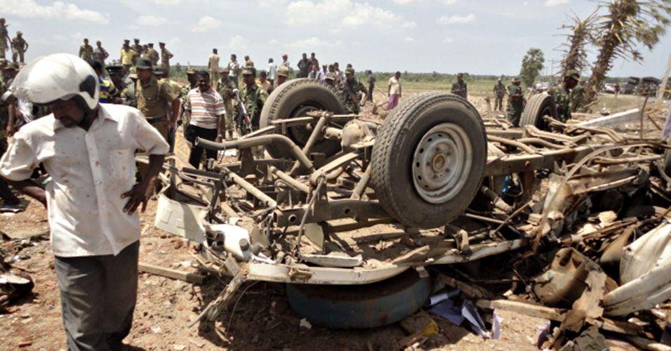 Explosão no Sri Lanka