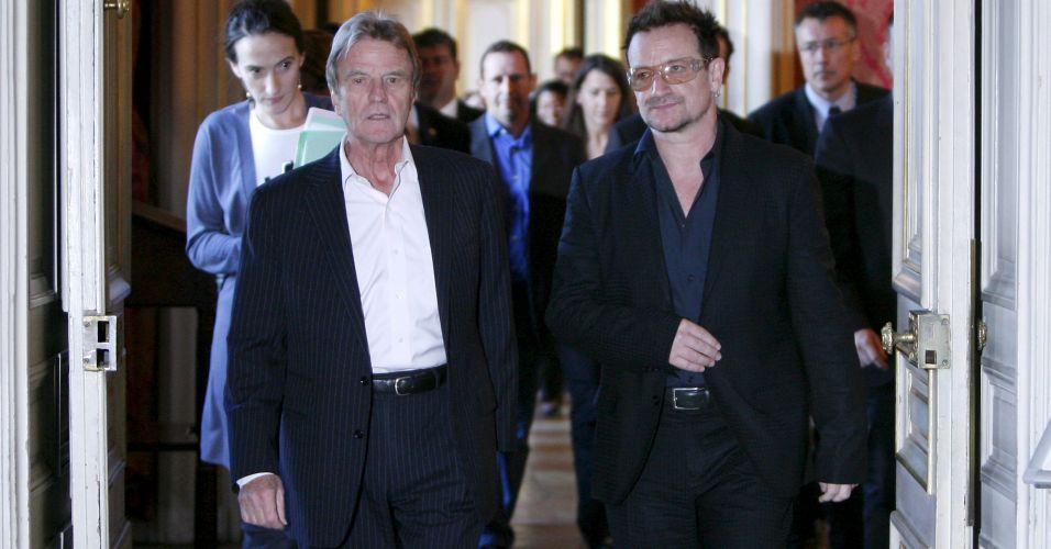 Bono na França