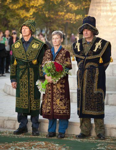 Homenagem no Cazaquistão