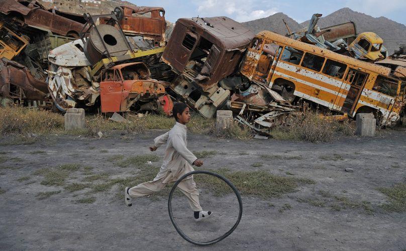 Criança afegã