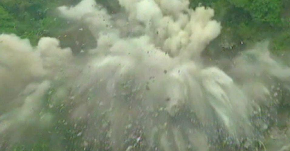 Implosão no Rio