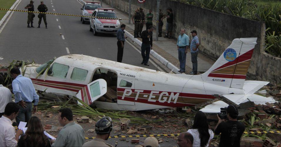 Avião cai no Pará