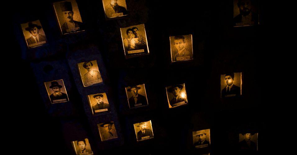 Homenagem na Cisjordânia